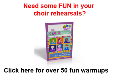 Click to check out the Fun Music Company Collection of Choir Warmups