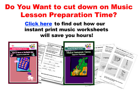 Cut Down music lesson preparation time